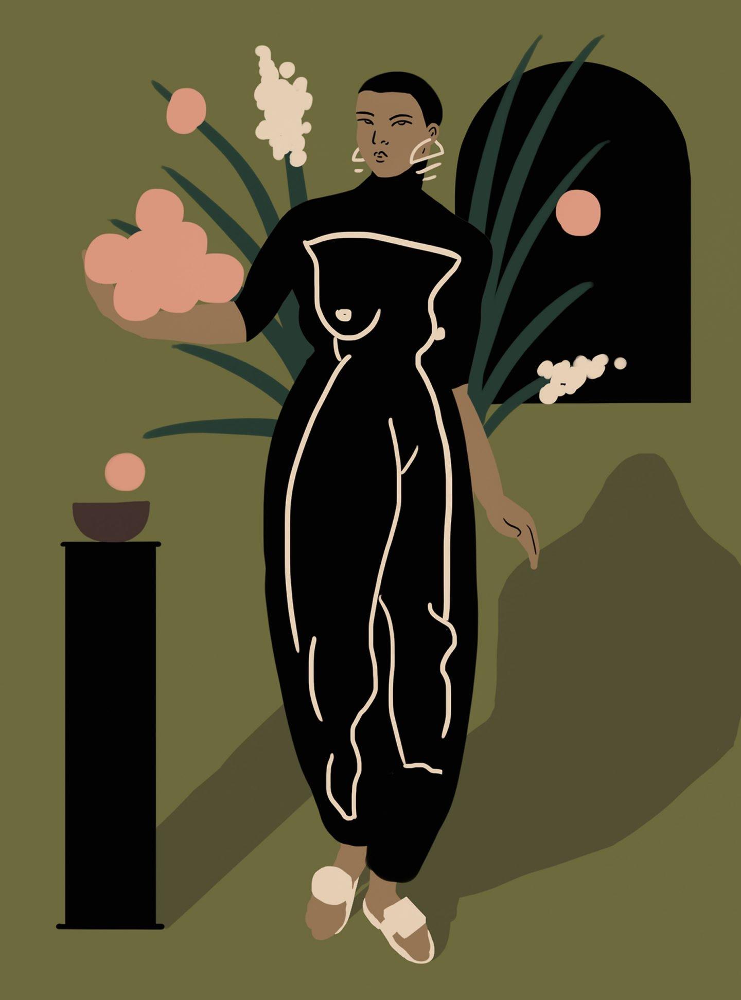 L'esplorazione della forma femminile dell'illustratrice Daiana Ruiz | Collater.al 11