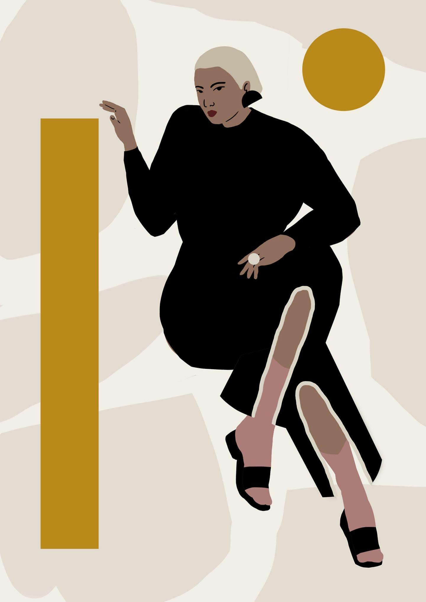 L'esplorazione della forma femminile dell'illustratrice Daiana Ruiz | Collater.al 5