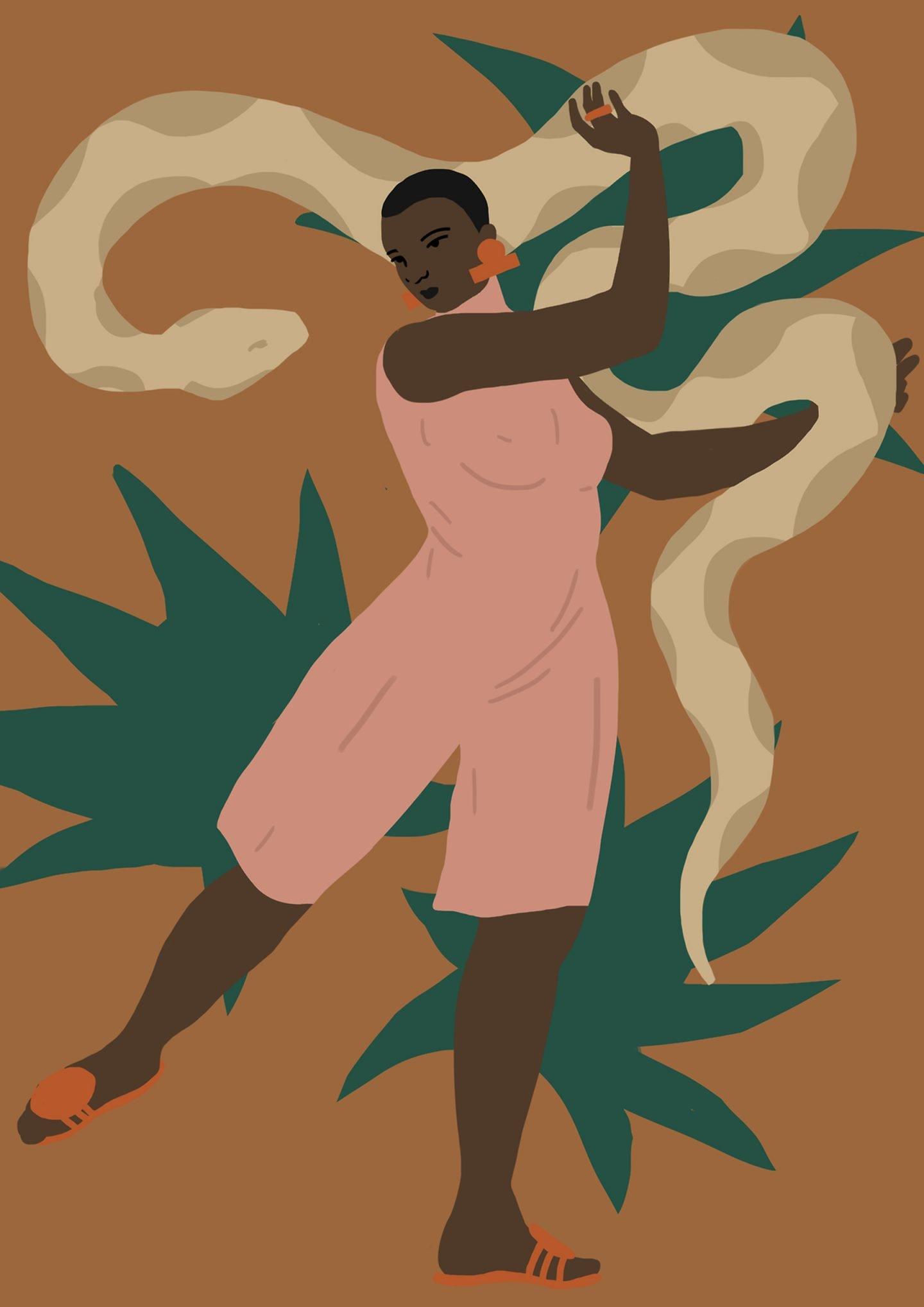 L'esplorazione della forma femminile dell'illustratrice Daiana Ruiz | Collater.al 7