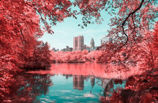 La New York ad infrarossi del fotografo Paolo Pettigiani
