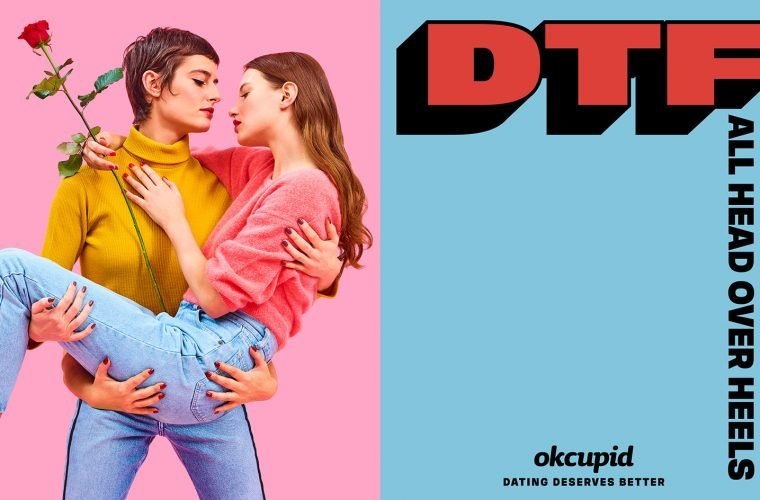 Maurizio Cattelan and Pierpaolo Ferrari campaign for OkCupid