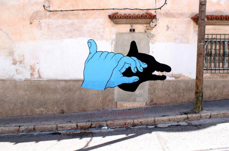 La street art pop surrealista di Grip Face