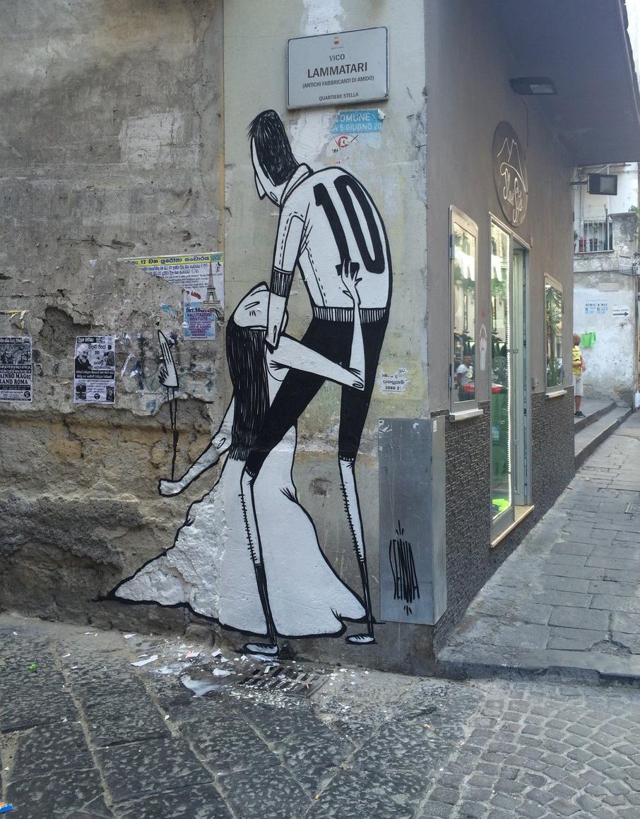 La street art romantica di Alex Senna | Collater.al 10