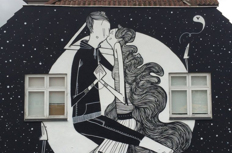 La street art romantica di Alex Senna