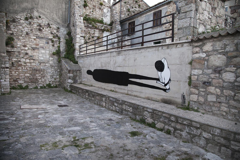 La street art romantica di Alex Senna | Collater.al 17