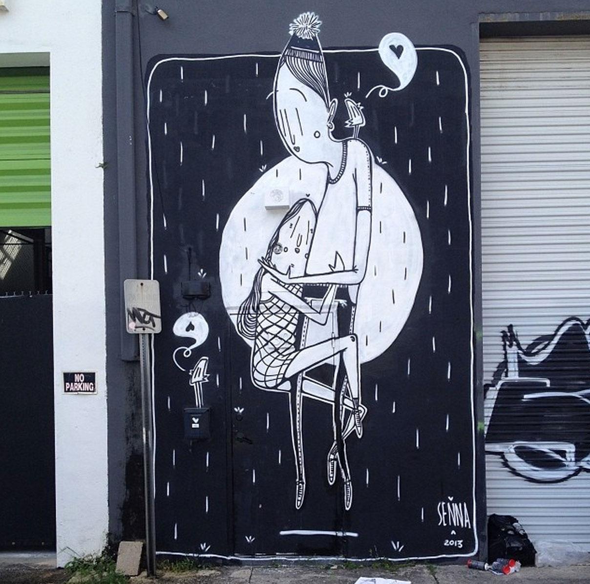 La street art romantica di Alex Senna | Collater.al 2