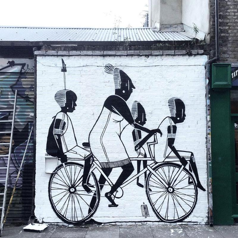 La street art romantica di Alex Senna | Collater.al 4