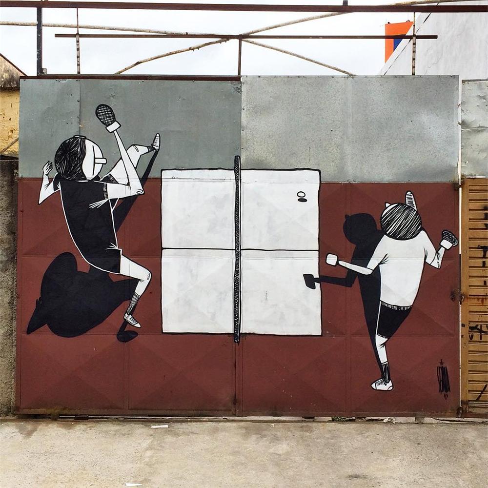 La street art romantica di Alex Senna | Collater.al 5