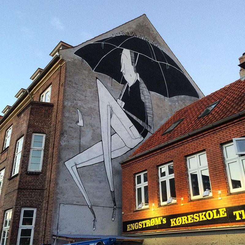 La street art romantica di Alex Senna | Collater.al 6