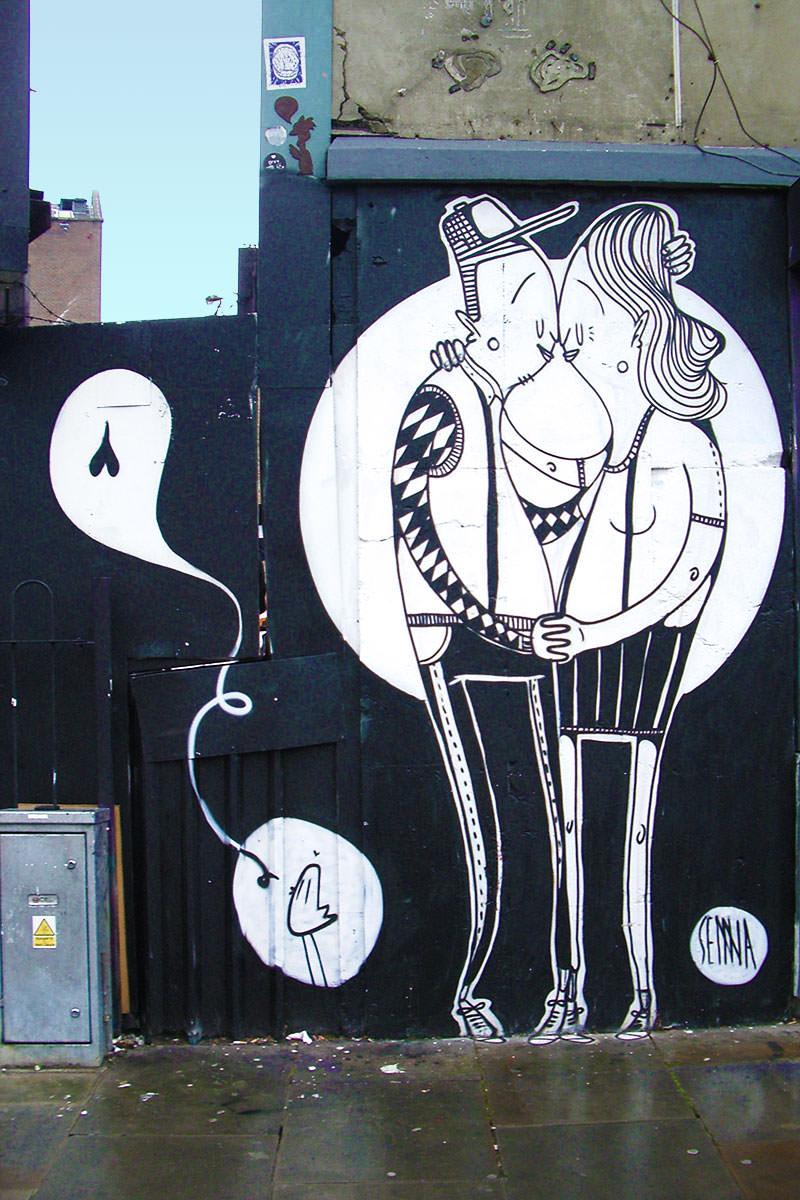 La street art romantica di Alex Senna | Collater.al 7