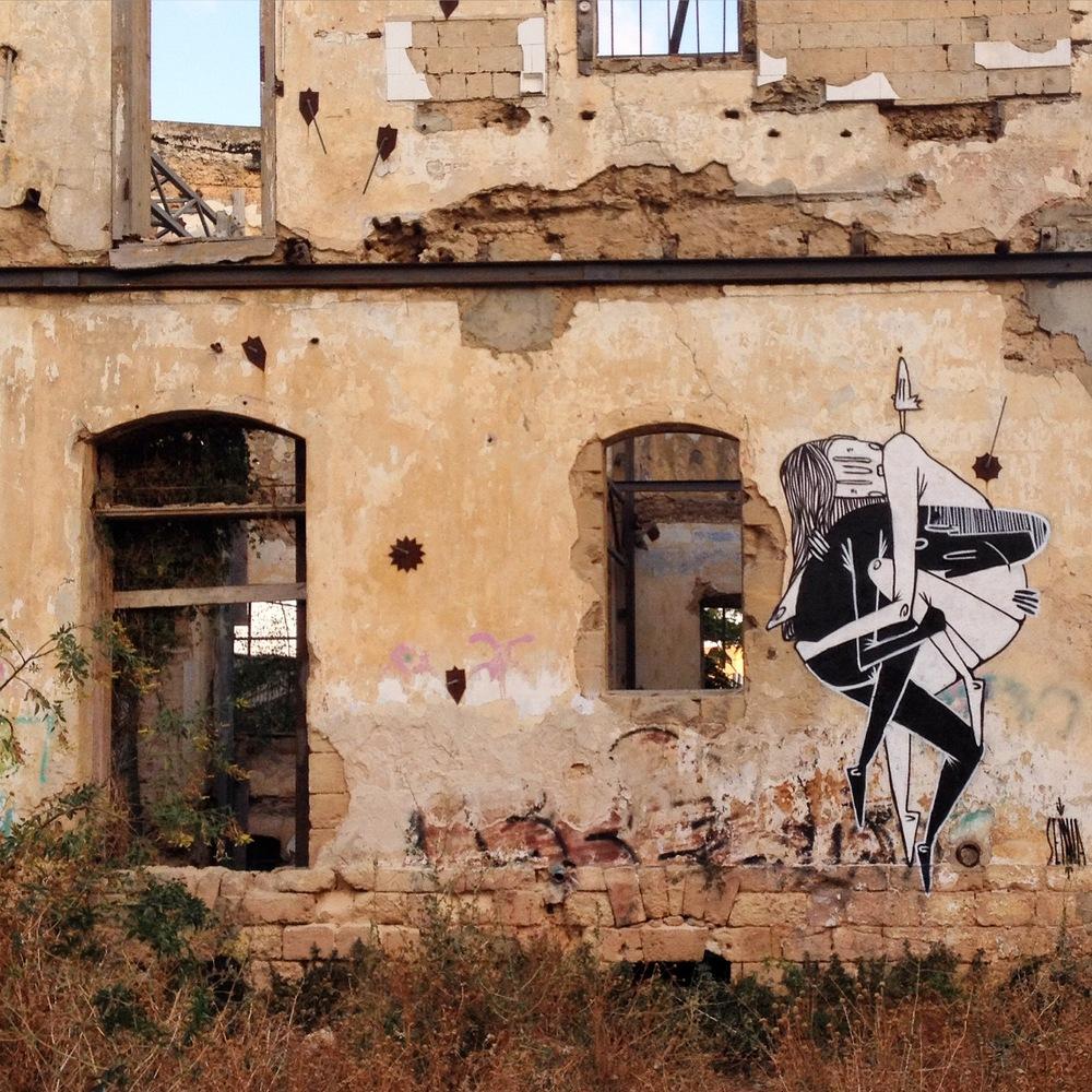 La street art romantica di Alex Senna | Collater.al 9
