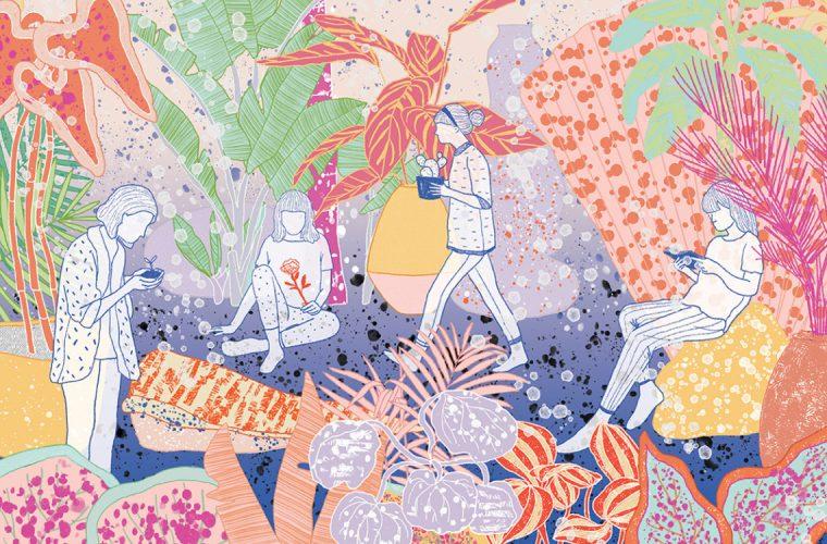 Le illustrazioni digitali ispirate alla natura di Milica Golubovic