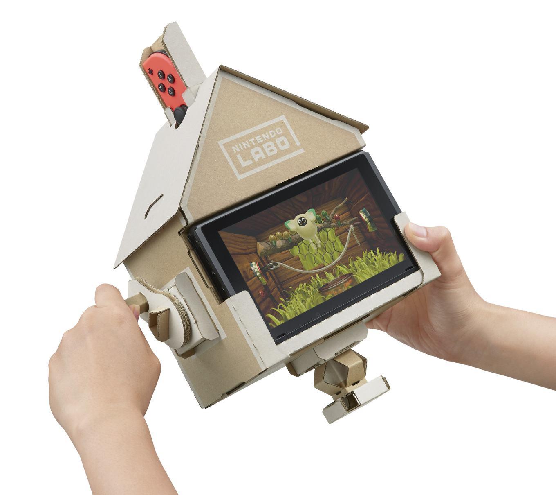 Nintendo Labo, quando la tecnologia incontra il do it yourself | Collater.al 2
