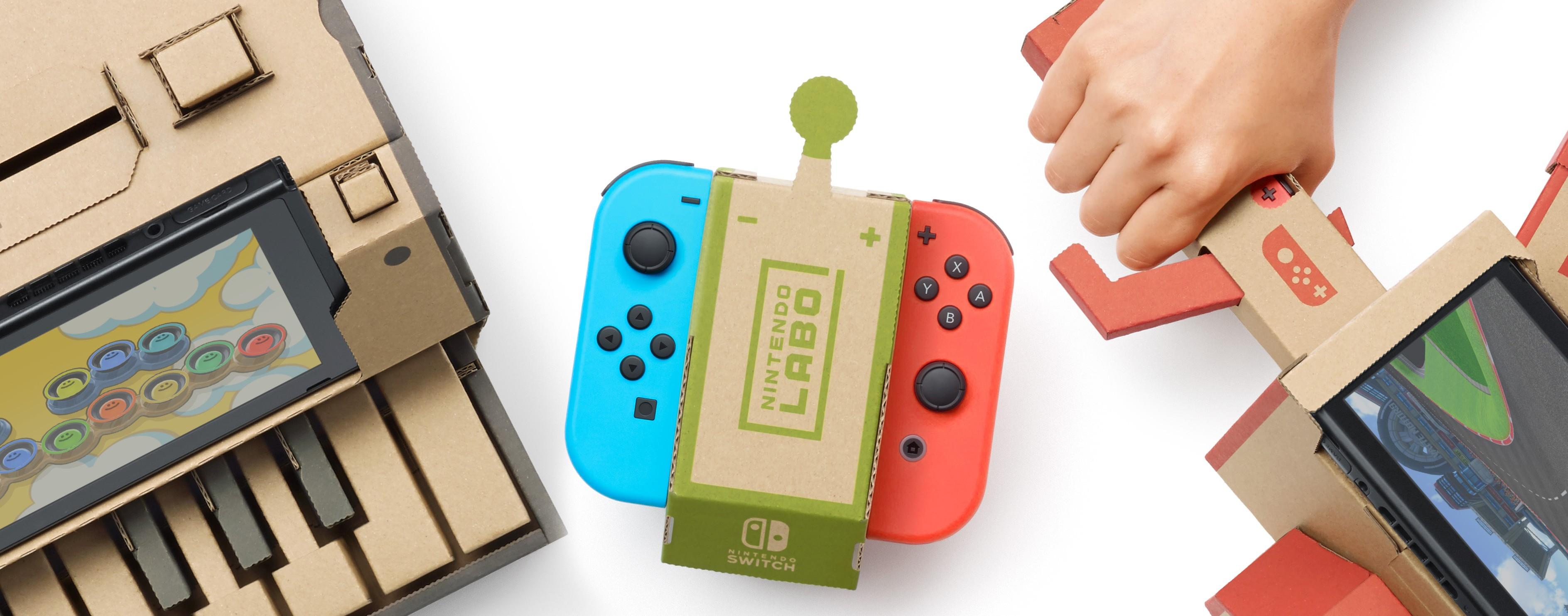 Nintendo Labo, quando la tecnologia incontra il do it yourself | Collater.al 3