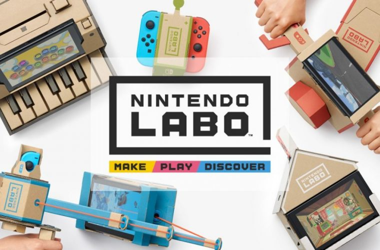 Nintendo Labo, quando la tecnologia incontra il do it yourself