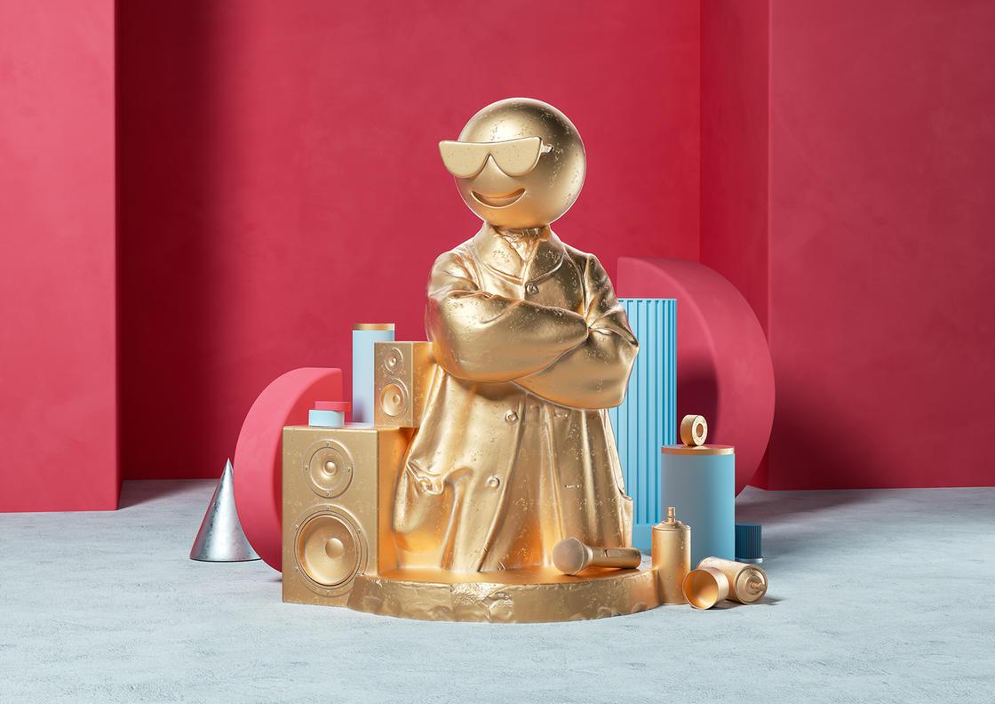 Sculptmojis, quando emoji e scultura classica si incontrano | Collater.al 9
