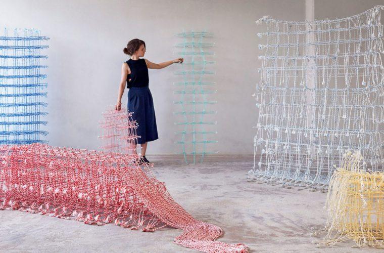 Standing Textiles, i tessuti solidi di Fransje Gimbrere