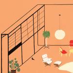 interior design illustrato di Lianne Nixon | Collater.al 11
