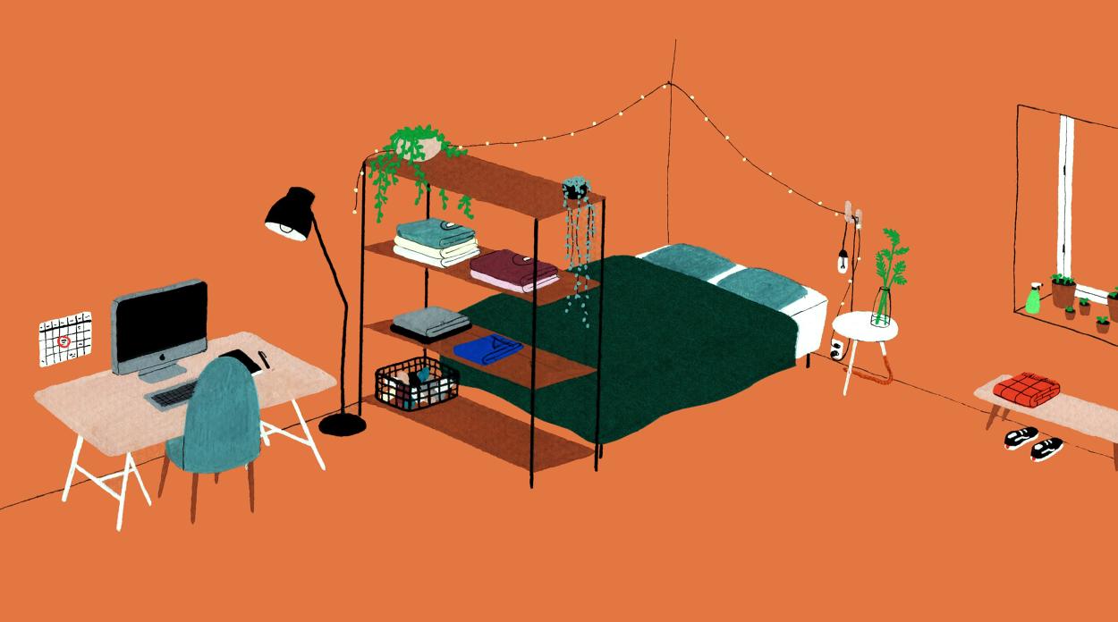interior design illustrato di Lianne Nixon   Collater.al 13