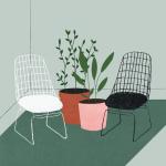 interior design illustrato di Lianne Nixon   Collater.al 14