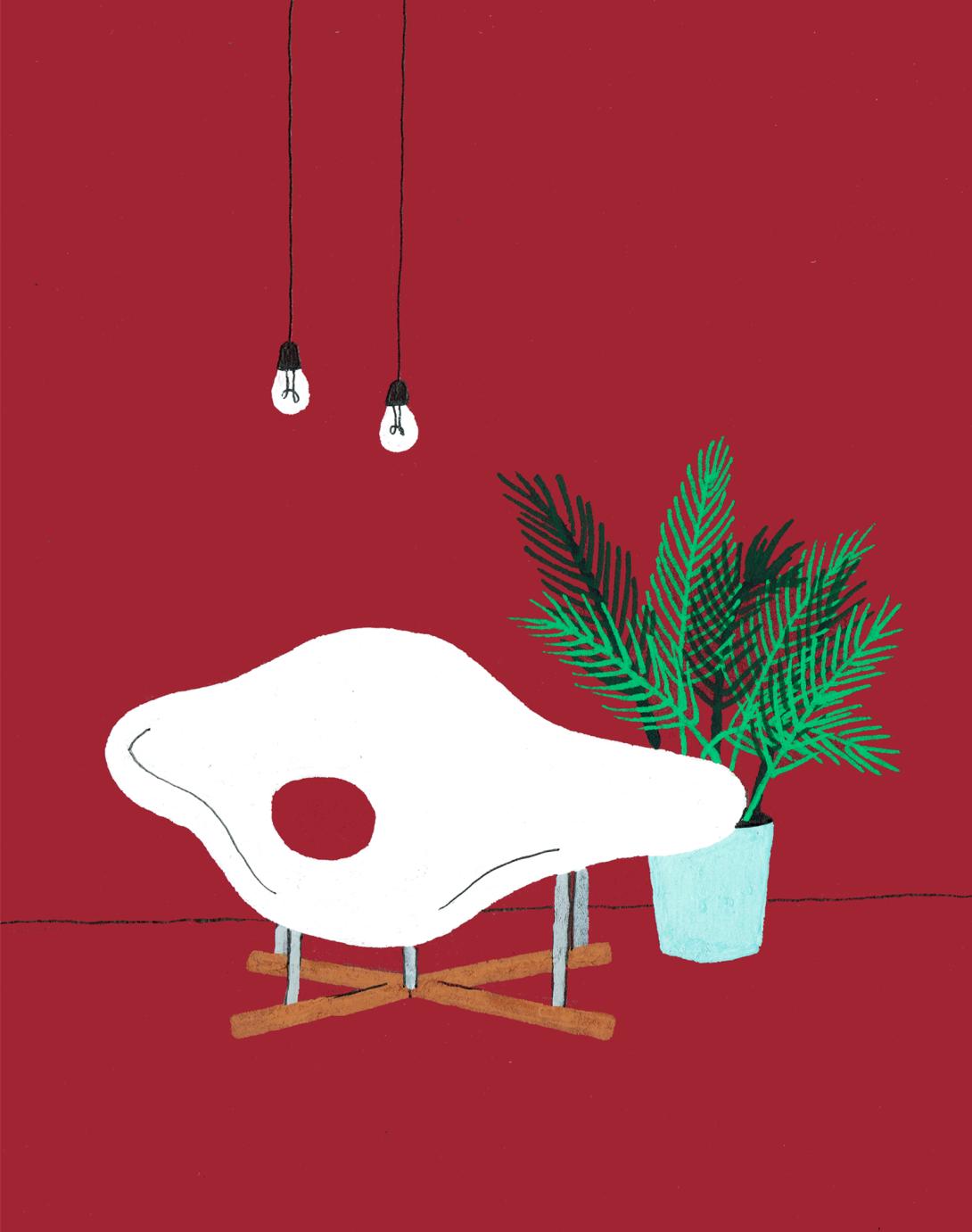 interior design illustrato di Lianne Nixon   Collater.al 18
