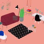 interior design illustrato di Lianne Nixon   Collater.al 2
