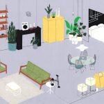 interior design illustrato di Lianne Nixon | Collater.al 6