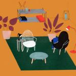 interior design illustrato di Lianne Nixon   Collater.al 8