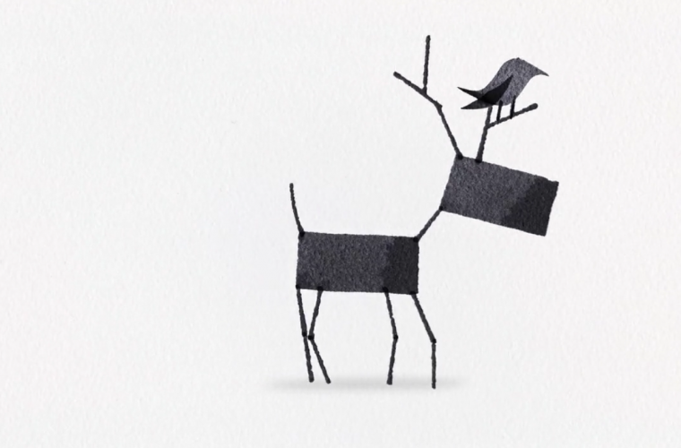 Short video for Breakfast – Calligraphy Animals Animated, gli animali di Andrew Fox