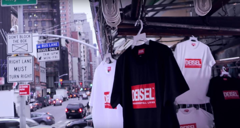 Diesel lancia Deisel, il falso logo del suo stesso brand | Collater.al 1