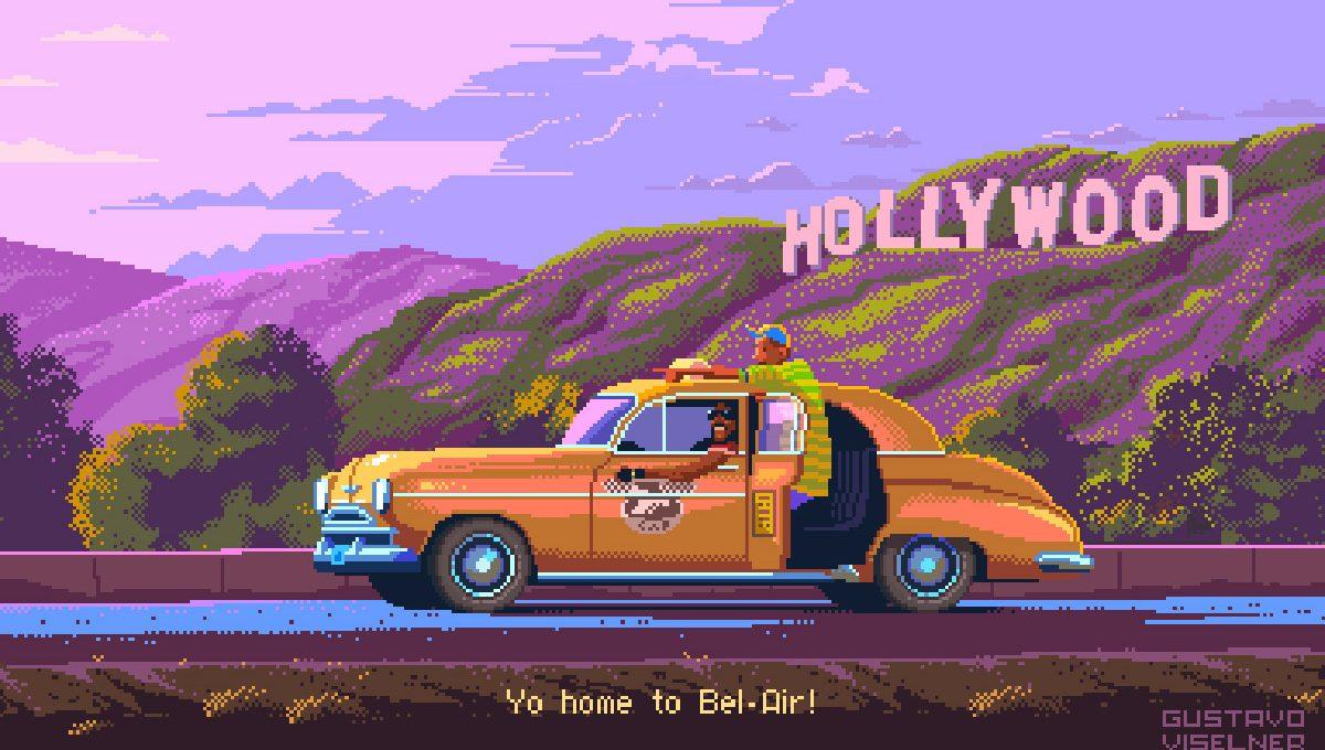 Gustavo Viselner recreates the most iconic TV-Show in 8-bit