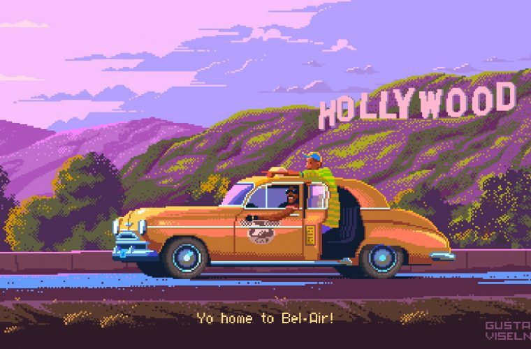 Gustavo Viselner recreates the most iconic TV-Show in 8-bit