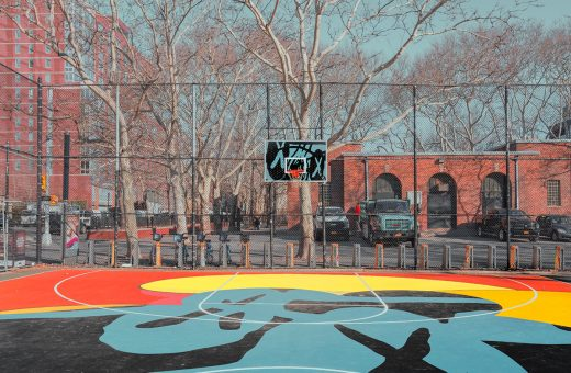 The New York basketball courts of Ludwig Favre
