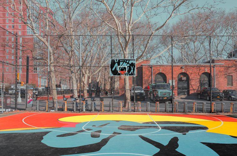 I campi di basket newyorkesi di Ludwig Favre