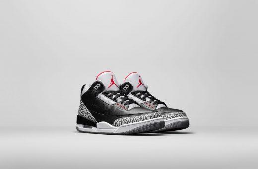 """In arrivo le Air Jordan III """"BLACK CEMENT"""""""