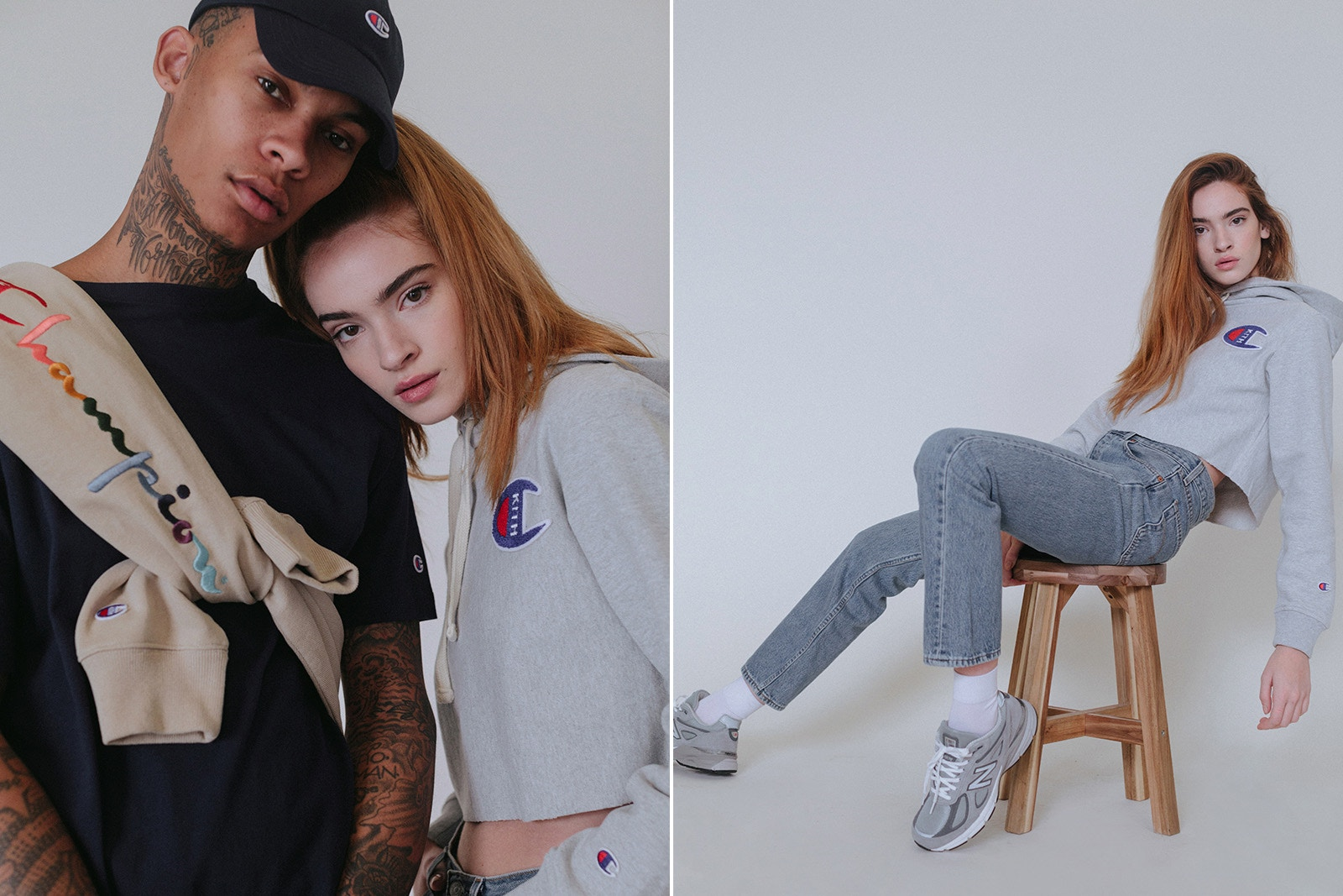 KITH rielabora il logo di Champion per una nuova capsule collection | Collater.al 15
