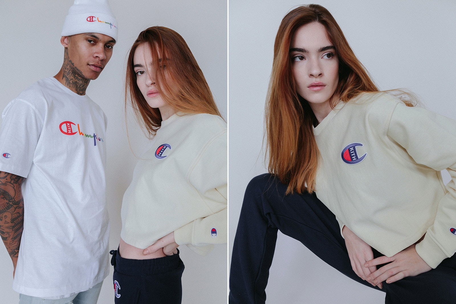 KITH rielabora il logo di Champion per una nuova capsule collection | Collater.al 3