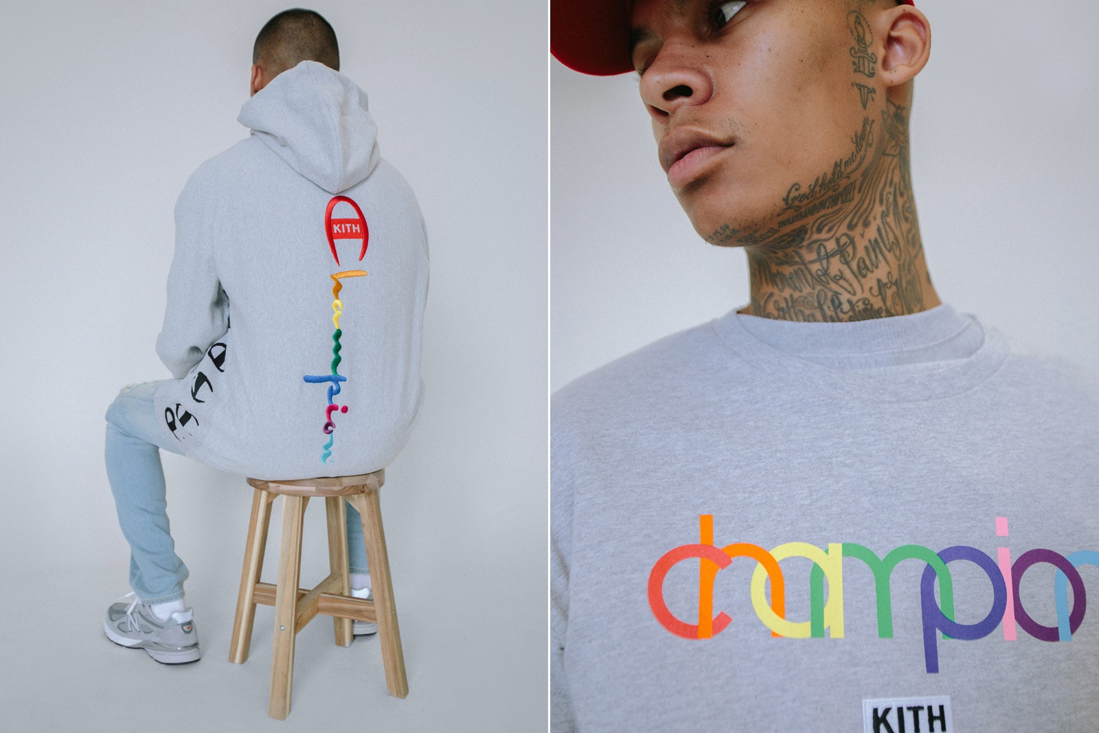 KITH rielabora il logo di Champion per una nuova capsule collection | Collater.al 4