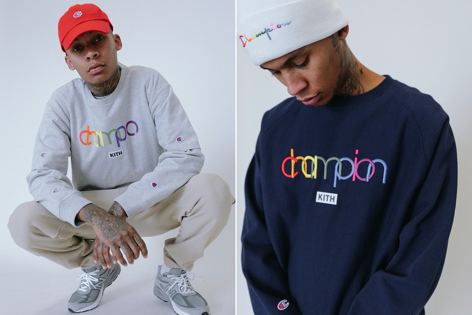 KITH rielabora il logo di Champion per una nuova capsule collection | Collater.al 7