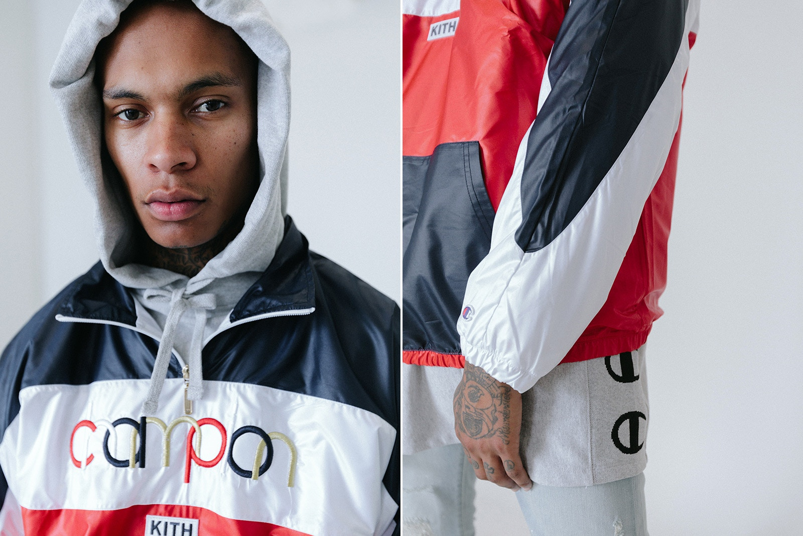 KITH rielabora il logo di Champion per una nuova capsule collection | Collater.al 8