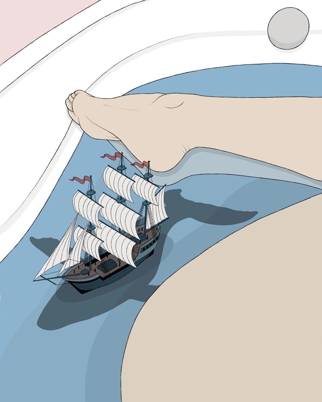 Le illustrazioni innamorate di Pietro Tenuta aka maniacodamore | Collater.al 1