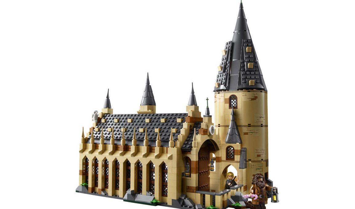 Lego celebrates Harry Potter with the Hogwarts Great Hall Set