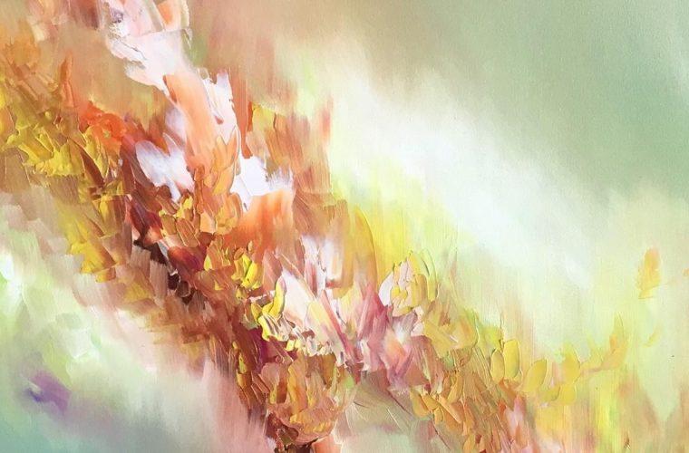 Melissa McCracken vede i colori della musica e dipinge i vostri brani preferiti