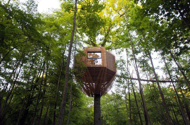 ORIGIN Tree House, la bellissima casa sull'albero di Atelier Lavit