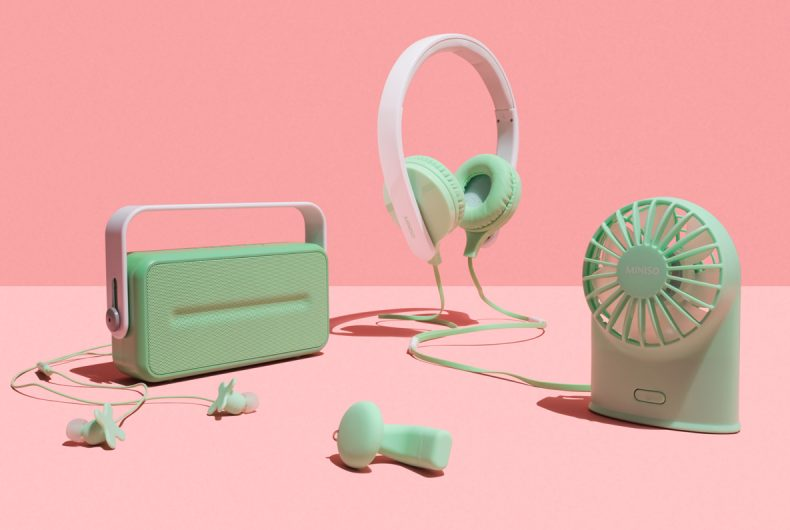 Permafrost x MINISO, electronic devices that look like toys