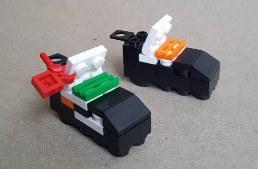 Shttng.Brcks ricrea le sneakers utilizzando i LEGO