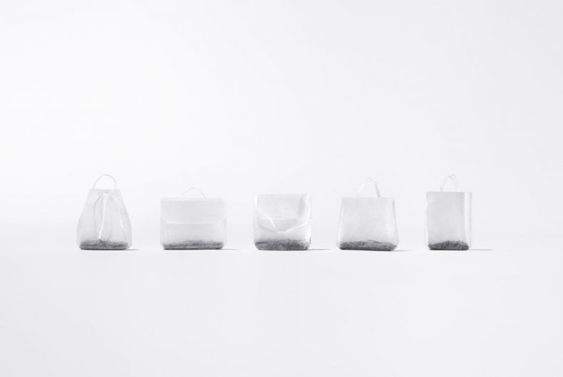 The Teabag collection, una collaborazione tra Hälssen & Lyon e Ayzit Bostan dedicata alla moda e al tè