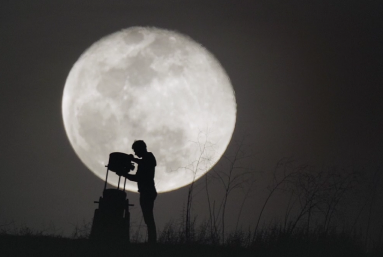 Short video for Breakfast – A New View of the Moon, when the moon is a little closer