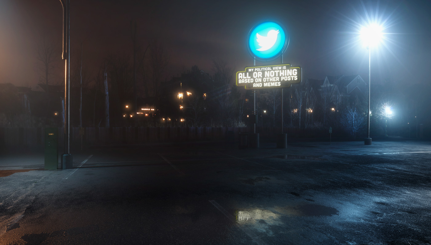 ANTISOCIAL, la deriva dei Social Network secondo Mike Campau | Collater.al 2