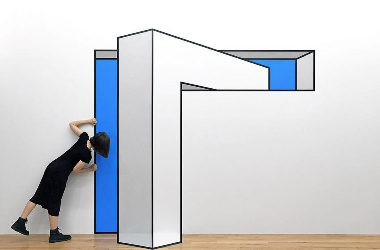 Tilt, the new exhibition by American artist Aakash Nihalani at Wunderkammern